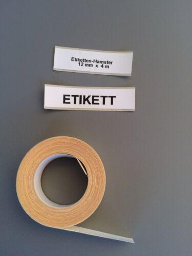 Papieretiketten Schriftband Dymo Letratag