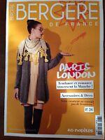 Catalogue Explication Tricot Bergere De France Paris London N° 181