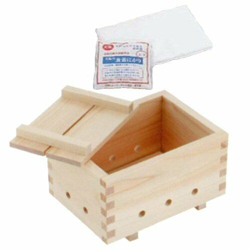 Hm0342 Yamako tofu Maker Wood Kit avec Butor /& Cloth from Japan