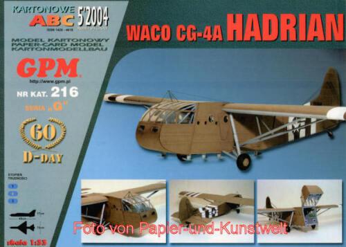 "1:33 Waco CG-4A /""Hadrian/"" GPM 216"