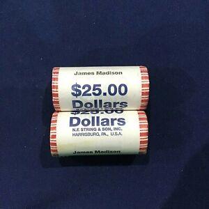 N.F STRING /& SON INC 2007 GEORGE WASHINGTON $25 PRESIDENTIAL DOLLAR ROLL