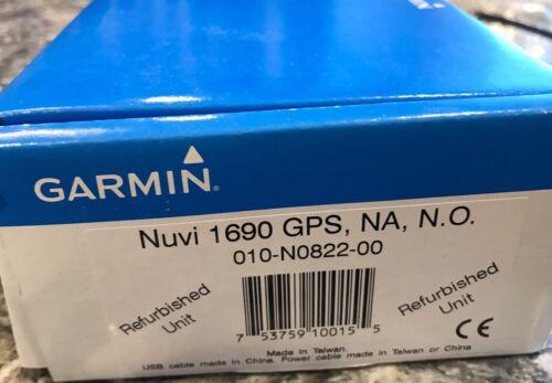 1 of 1 - Gramin GPS Nuvi 1690