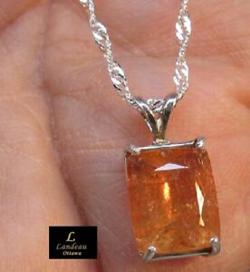 7-05-ct-Royal-Imperial-Topaz-amp-Sapphire-Silver-Pendant