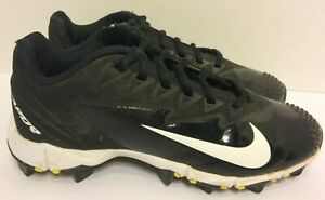 Nike-Kids-Vapor-Ultrafly-Keystone-Baseball-Cleats-Black-White-Youth-Size-1