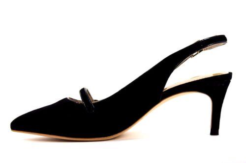 con tacco Uk punta a con scamosciata 5 in scarpe Eu Nuovo Womens pelle Boden 38 tacco a punta nera Lois 1wqUWBT