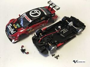 Carrera-Audi-RS5-DTM-034-M-Molina-No-17-034-Karosserie-Chassis-aus-30741