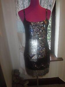 All Dress Size Stunning Sequin Saints Excellent 10 Bloque Condition pSxwqgwdz