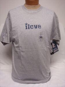 I Love Me Some Cowboys Dallas Nfl Gray Tshirt M Or 2x Ebay