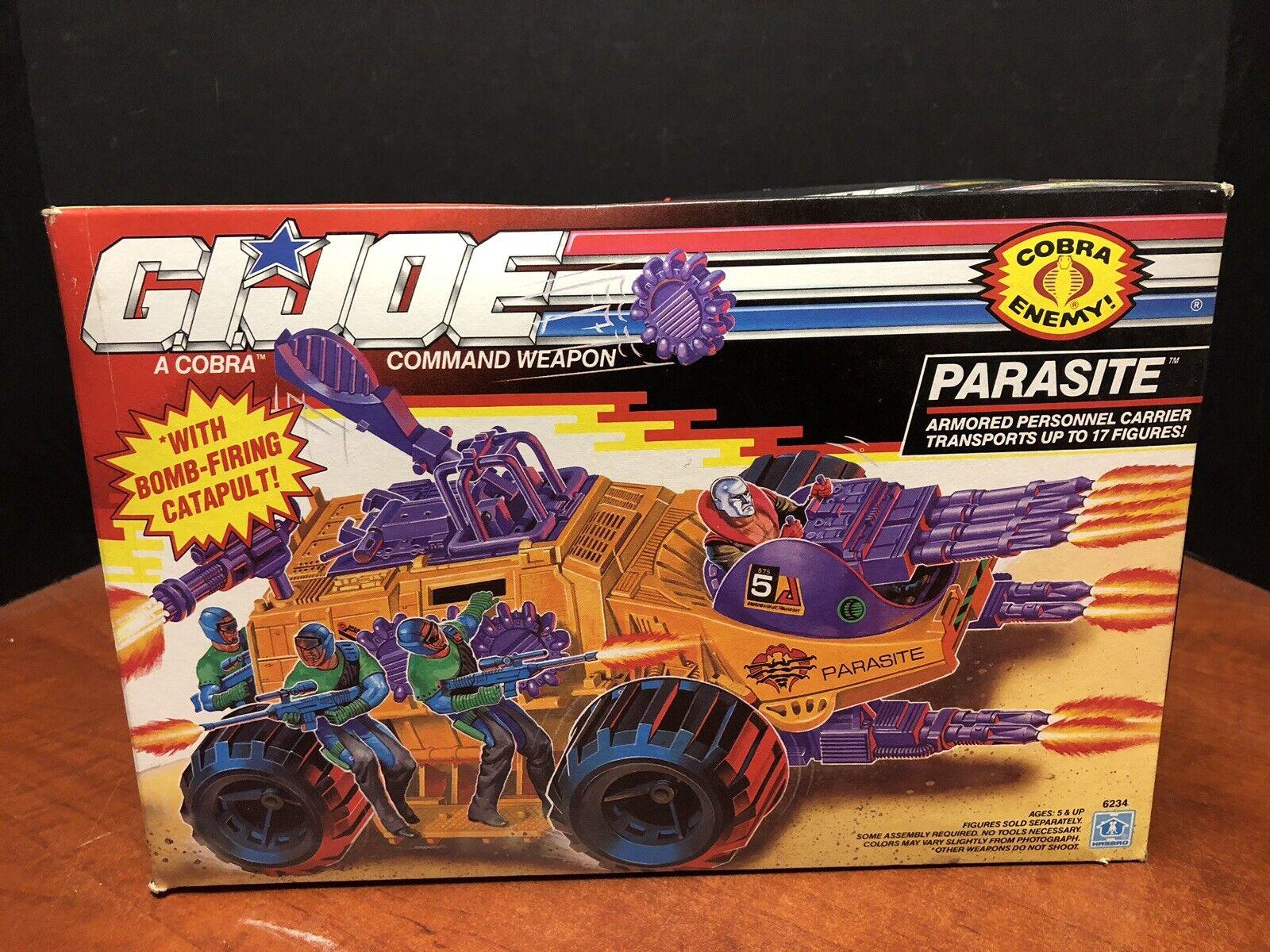GI Joe 1992 Parasite Carrier Sealed Dela0190