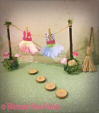 Fairy Washing Line Fairy Door Fairy Garden Miniature Accessory Stepping Stones