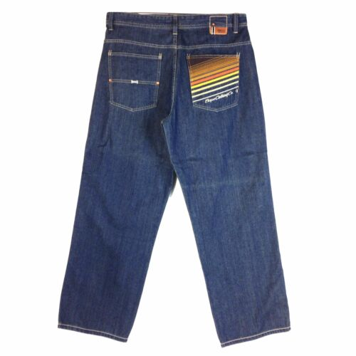 Old school Baggy Styles Assorted Vintage Enyce Design Men/'s New Jean 6 Group