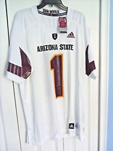 official photos 6871f a285b Details about ADIDAS XL Arizona State Sun Devils NCAA Replica Football  Jersey Pat Tillman