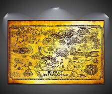 The legend of zelda collector's HYRULE MAP  Poster A3 - 297 x 420 mm