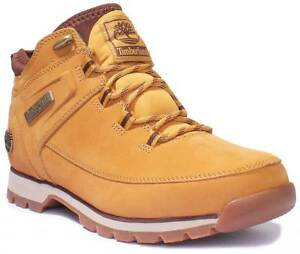 090c9c54831 Timberland A1HQ3231 Euro Sprint Sport Men Nubuck Leather Wheat Hiker ...
