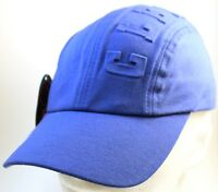Clench 701 Jeans Racer Hat Cap Embossed Blue