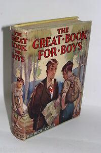 The-Great-Book-for-Boys-Herbert-Strang-1930s-1932-Adventure-Stories