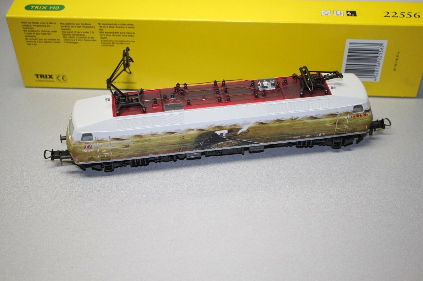 Trix 22556 elok serie 120 139-1 DB pista h0 OVP