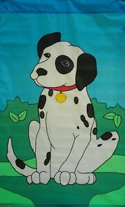 Dalmation Standard House Flag by NCE  #20503