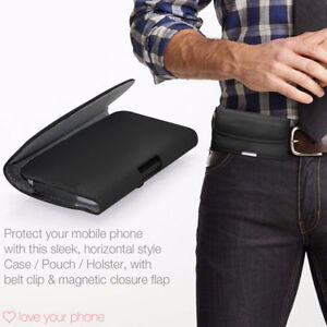 Quality-Excellent-Protection-Horizontal-Belt-Clip-Pouch-Case-HTC-Desire-650