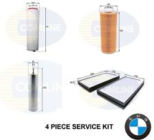 FOR BMW 525 D 525D E60 E61 SERVICE KIT OIL AIR FUEL DIESEL CABIN POLLEN FILTER