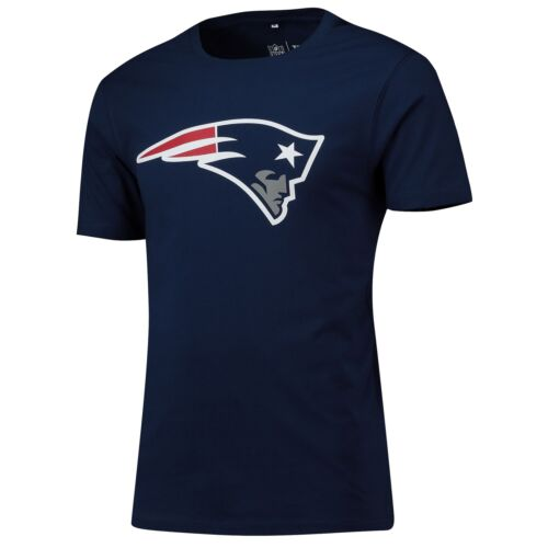 NFL New England Patriots Primary Graphic T Shirt Navy Mens Fanatics