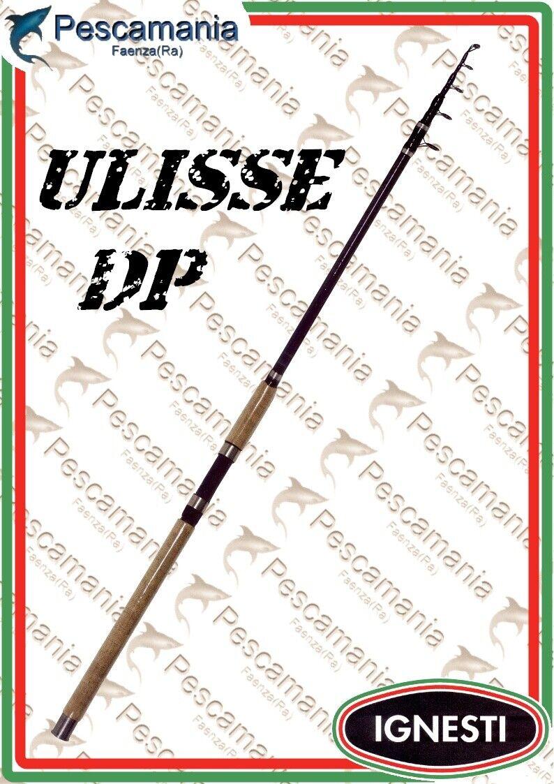 Canna ignesti Ulisse DP Cochebonio intrecciato Cochepfishing telescopica