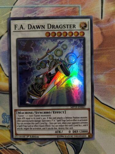 NM F.A Dawn Dragster MP19-EN061 Super Rare 1st Ed