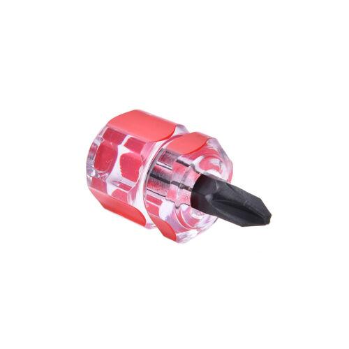 2 xMini Tournevis Mini Tournevis court petit Split Trousse à outils de réparation Set Ly