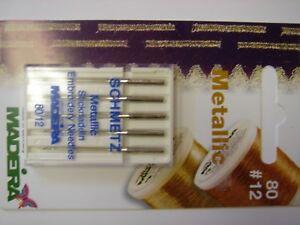 SCHWETZ-METALLIC-EMBROIDERY-SEWING-MACHINE-NEEDLES-X2-Packs
