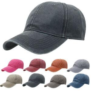 Femme-Homme-Chapeau-Casquette-Baseball-Snapback-Reglable-Cap-Bonnet-Golf-Visiere