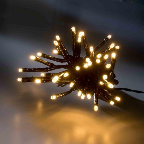 Lumineo LED-Lichterkette mit acht Funktionen Memory Controller 13,5 warmweiß