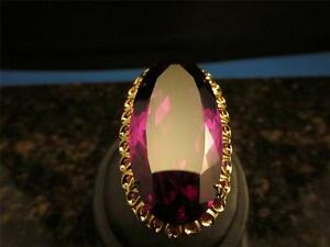 Vintage-64-Cart-Flame-Fusion-Synthetic-Color-Change-Alexandrite-Sapphire-14k