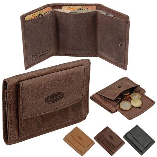 Boccx Mini Borsa Portafoglio Uomo Pelle Portamonete Portafoglio Festa Borsa valori 40025
