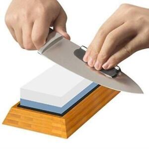Vistal Kitchen Knife Sharpening Stone - 2 Sided Whetstone,1000/6000 Grit