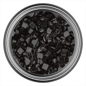 Black-Square-Rhinestone-Gems-Flatback-Face-Art-Nail-Art-Jewels-Decoration-2mm