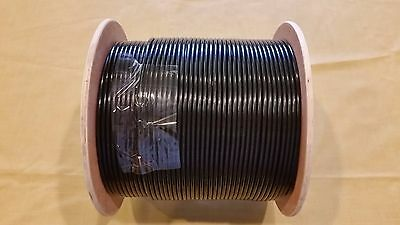 RG-58U RG58U RG58/U BLACK COAXIAL CABLE 1000' 1000FT