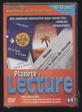 NEUF DVD PLANÈTE LECTURE 10-11 ANS méthode pour savoir lire réfléchir comprendre