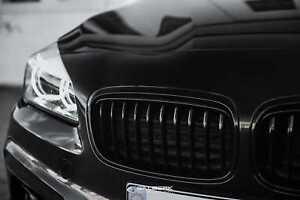 Para VW Touran 1t caddy 2k Front parrilla de barbacoa calandra negro o emblema r line