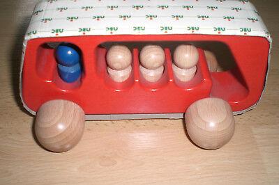 Nic Cubio Linienbus Rot 2232 Mit Zugabe Neu Mild And Mellow Holzspielzeug Spielzeug