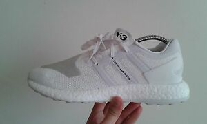 734f0c9d2 Adidas Y-3 Pure Boost ZG Triple White 10 BY8955 Deadstock