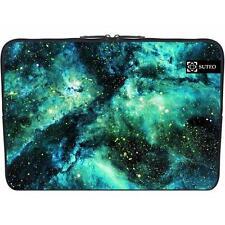 """660 - Funda de neopreno MacBook / portatil 15.6"""" pulgadas - Galaxia verde"""