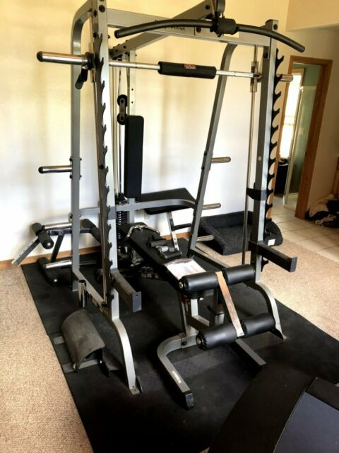 Body Solid Gdib46lp4 Olympic Combo Bench Package For Sale Online Ebay
