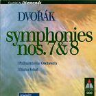 CD Antonin Dvorak Symphony Nr. 7 In D Minor, OP. 70, Symphony Nr. 8 In G Major
