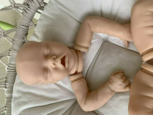 "Reborn Doll Baby Parts Kit For 18/"" Soft Vinyl Fresh Unpainted Accessories DIY"