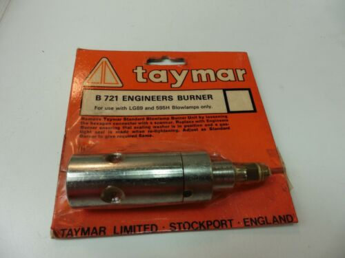 Taymar Lampe brûleurs x2-Ingénieurs B721 /& Hobby B707-Made in Stockport