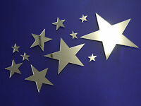 Acrylic Star Mirrors, MADE IN THE UK.