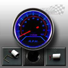 "Rev counter Tachometer gauge smoked face 2"" / 52mm 0-1000rpm Petrol car"