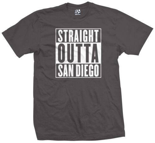 Straight Outta San Diego T-Shirt Padres Chula Vista Escondido SD All Colors