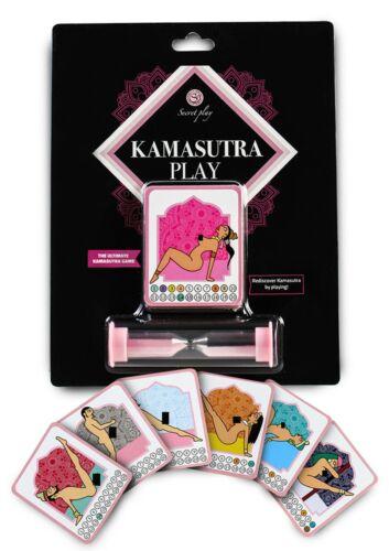 Kamasutra Couples Game Sex Positions Swingers Erotic Cards Adult Fun Pleasure