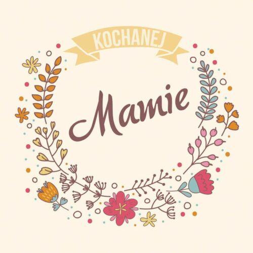 Misiu Polish Mothers/' Day Card with Envelope Kochanej Mamie